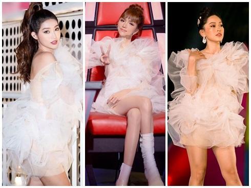 Diện chung váy bông tắm, tinh tế như Hương Giang đến Bùi Phương Nga, Quỳnh Châu đều bị chê xấu-7