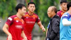HLV Park Hang Seo chốt danh sách 23 tuyển thủ Việt Nam đấu Thái Lan