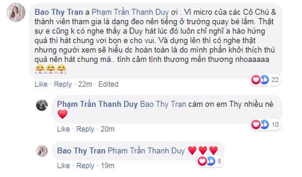 Bảo Thy lên tiếng chuyện Thanh Duy ăn ngập đá tảng vì làm lố, hát chen ngang át cả giọng đồng nghiệp-5