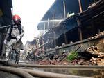 Công an Hà Nội thông tin nguyên nhân vụ cháy nhà máy Rạng Đông-4