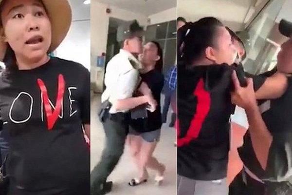 Vụ nữ cảnh sát náo loạn tại sân bay: Đang tiếp tục xử lý theo trình tự