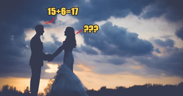 Chú rể trả lời 15+6=17, cô dâu hủy hôn ngay phút chót-1