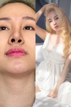 Bà Tưng tung clip khoe 'nhan sắc tái sinh' sau khi ám ảnh người nhìn với chiếc mũi biến dạng