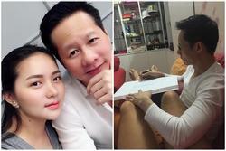 Dù giàu có nức tiếng, chồng đại gia của Phan Như Thảo vẫn tự tay làm điều hiếm có này cho lễ đính hôn