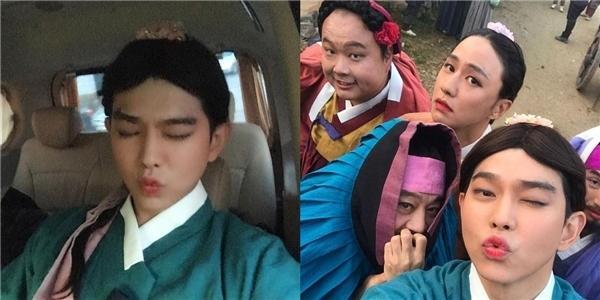 Những màn giả gái từ thảm họa đến đỉnh cao trong phim Hàn-8