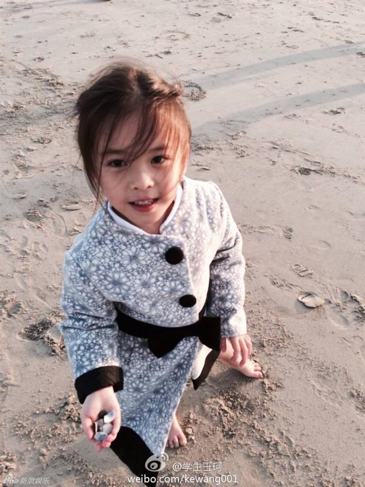Mới 11 tuổi nhưng ái nữ của A Châu Lưu Đào đã lộ rõ tố chất của một đại mỹ nhân-12