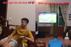 Đình Trọng, Văn Đức bỏ cơm tối để cổ vũ cho đội tuyển Việt Nam