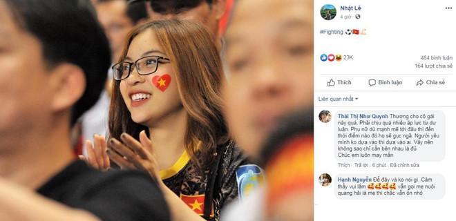 Chỉ hành động nhỏ của Quang Hải, fans nhìn ra tình đẹp với Nhật Lê chính thức tan vỡ?-1