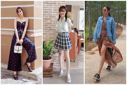 Đông Nhi lấy lại phong độ với 2 màn street style ấn tượng - Ninh Dương Lan Ngọc 'lên đồ' như nữ sinh