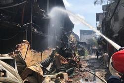 Bộ Y tế cảnh báo về sức khỏe của người dân sau vụ cháy Công ty Rạng Đông