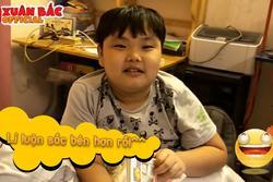 Cười ngất nghe con trai Xuân Bắc lý sự : 'Bố là gừng sĩ không phải nghệ sĩ'