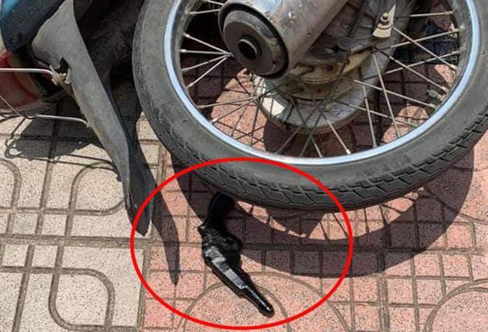 Hà Nội: Bắt giữ đối tượng cầm súng giả xông vào cướp ngân hàng-2