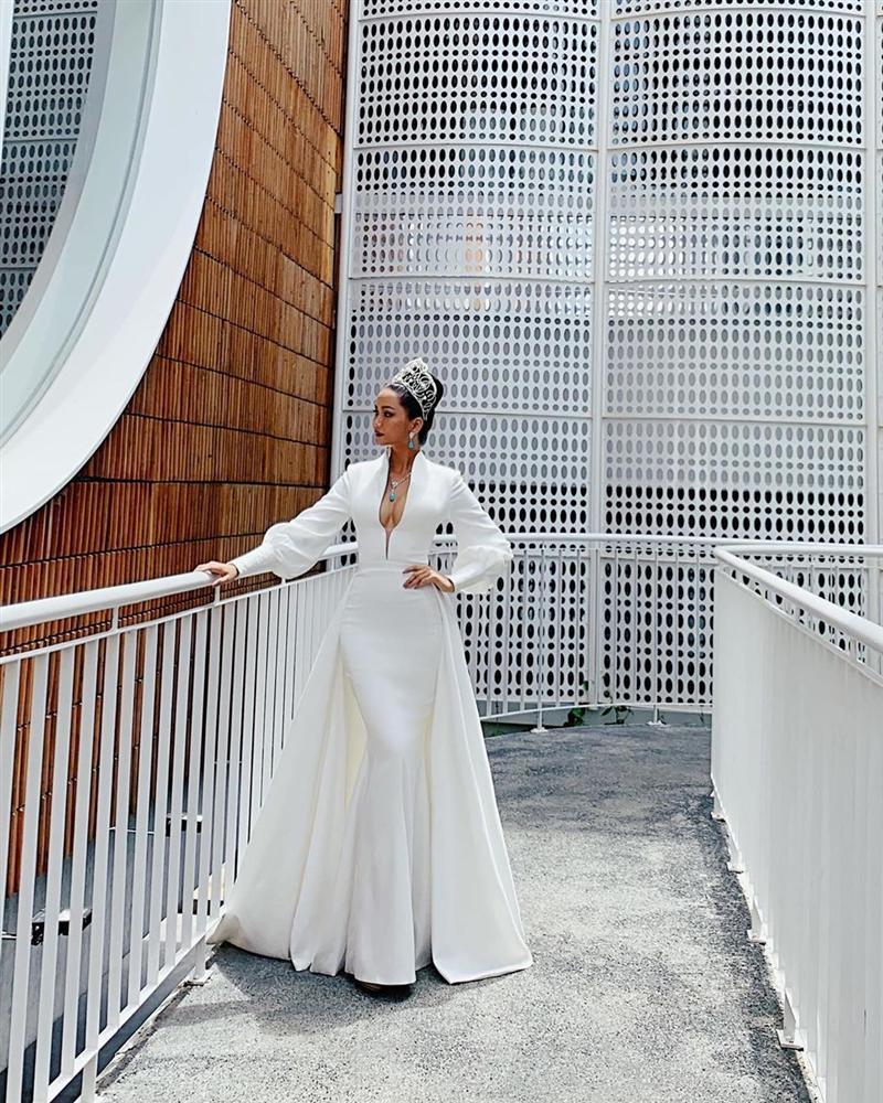 Bản tin Hoa hậu Hoàn vũ 6/9: HHen Niê lên đồ cực ấn tượng, thần thái ngút ngàn chặt cả dàn mỹ nhân-1
