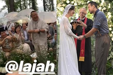 Tăng Chí Vỹ vui mừng khi con trai cưới vợ