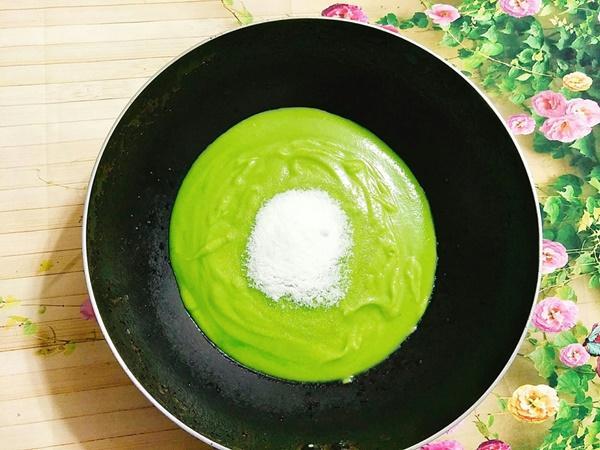 Hướng dẫn làm bánh Trung thu đậu xanh lá dứa-5