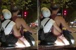 Phơi lưng trần khi ra đường, cô gái trẻ khiến người xem ngán ngẩm với kiểu thời trang hở bạo-2