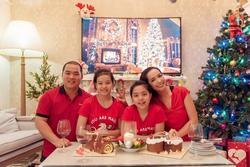 Không riêng nhà Quyền Linh, gia đình Thuý Hạnh cũng chăm diện đồ ăn ý khiến cộng đồng mạng ngưỡng mộ