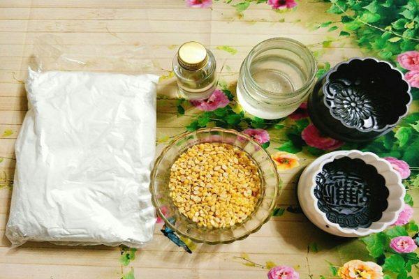 Cách làm bánh trung thu dẻo nhân đậu xanh truyền thống-2