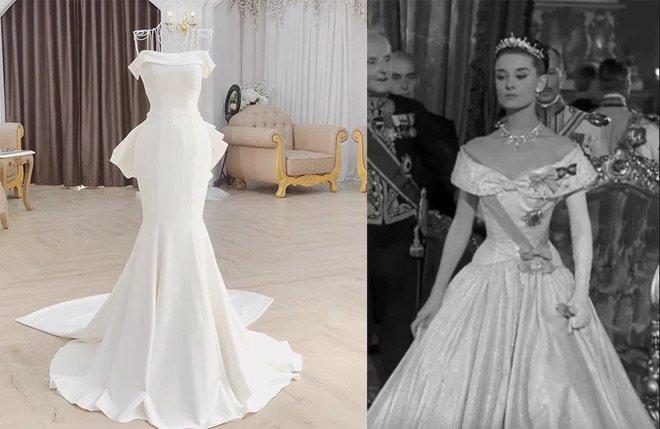 Nhà siêu giàu, con gái đại gia Minh Nhựa vẫn diện lại áo dài cưới trong lễ đón dâu-9