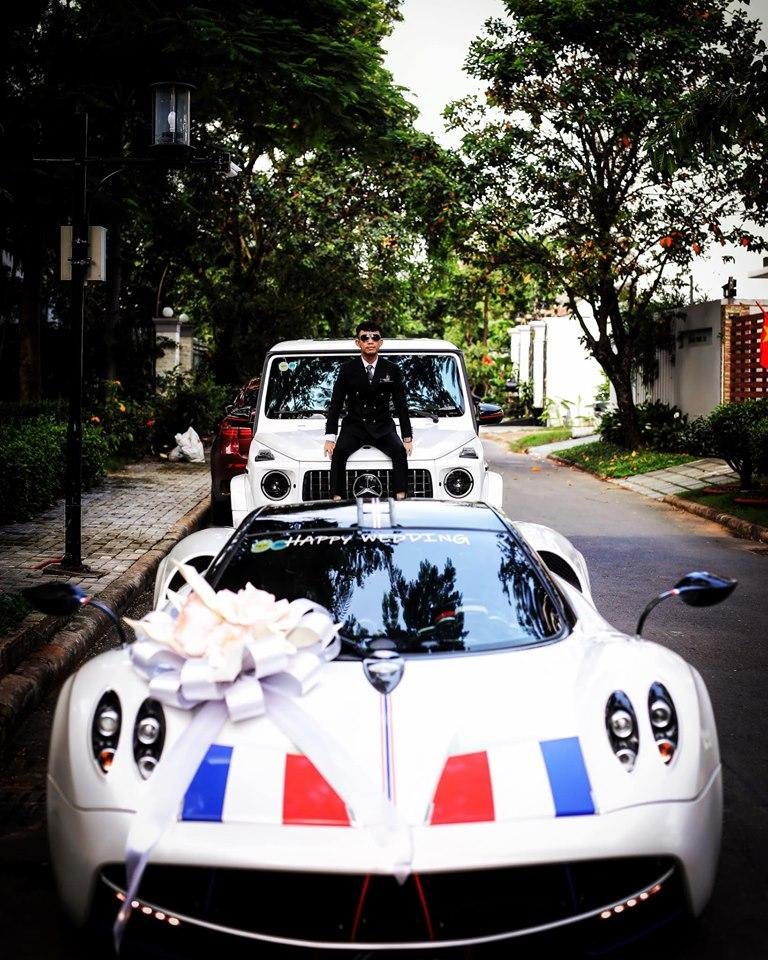 Choáng váng hình ảnh Minh Nhựa trực tiếp đưa con gái vào lễ đường bằng siêu xe 80 tỷ-3