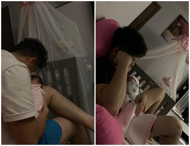 VZN News: 3 ông bố bỉm sữa của showbiz Việt khiến bao người phụ nữ thầm mơ vì chăm con quá khéo-1