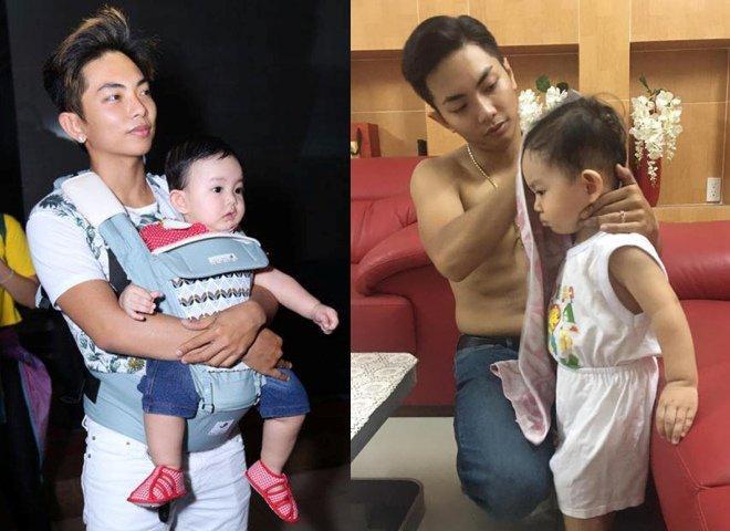 3 ông bố bỉm sữa của showbiz Việt khiến bao người phụ nữ thầm mơ vì chăm con quá khéo-7