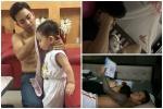 Hẹn nhau đi uống nước, 2 ông bố cùng phải ôm con cho vợ đi chơi - bức ảnh gây sốt ngày cuối tuần-3