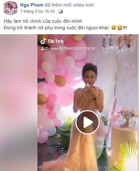 Vợ hai Minh Nhựa bị soi chia sẻ lạ trước ngày con riêng của chồng tổ chức đám cưới xa hoa-3