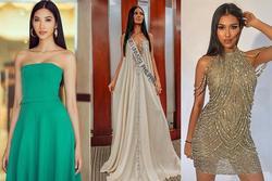 Bản tin Hoa hậu Hoàn vũ 9/9: Hoàng Thùy chỉ diện đầm tối giản vẫn tỏa sáng giữa dàn đối thủ