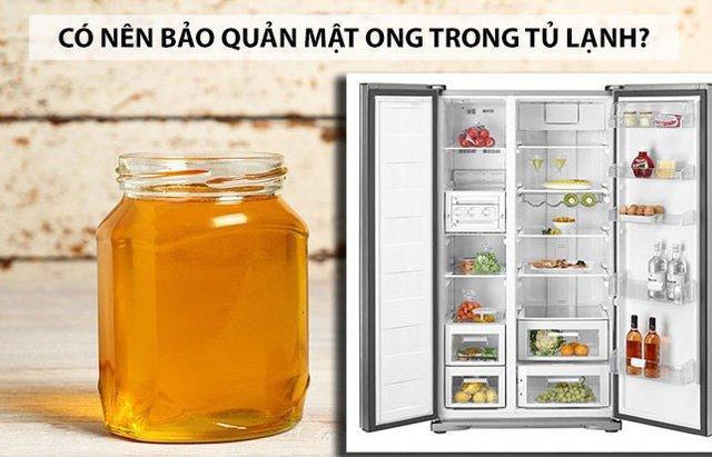 Vì sao tuyệt đối không nên bảo quản mật ong trong tủ lạnh?-1