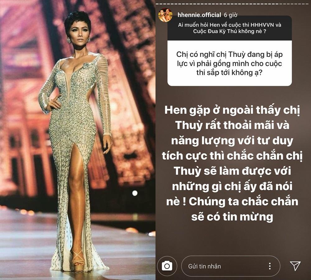 Hoàng Thùy thi Miss Universe 2019, HHen Niê khẳng định: Chắc chắn có tin mừng-1
