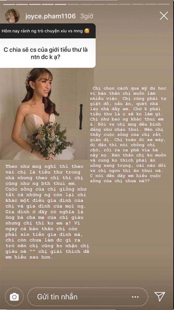 Sau đám cưới xa hoa, ái nữ nhà Minh Nhựa lần đầu tiết lộ về cuộc sống của tiểu thư con nhà gia thế-3