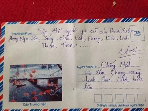 Người yêu cũ gửi hẳn phong bì cưới ảnh thẻ để nhận diện khuôn mặt khiến cô dâu bất ngờ-4