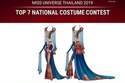 Lộ diện trang phục dân tộc của hoa hậu Thái Lan ở Miss Universe 2019, tên gọi có 1-0-2