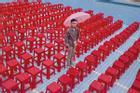 Bể bơi không nước - góc check-in mới hút giới trẻ đến Đà Lạt