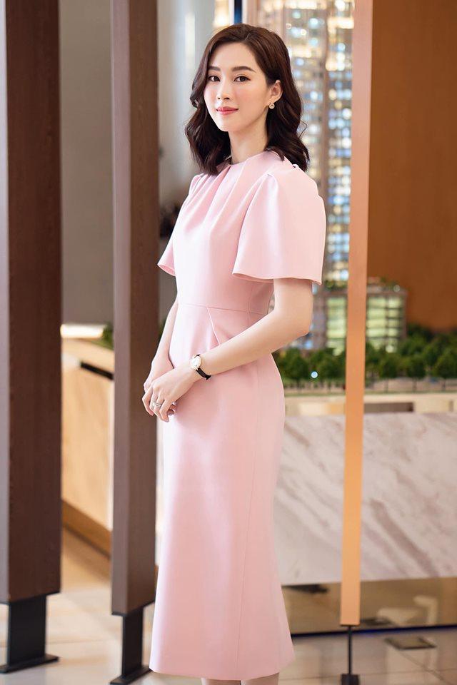 Chỉ 1 khoảnh khắc, Hoa hậu Đặng Thu Thảo lộ gương mặt ngày càng có tướng phu thê với ông xã đại gia-3