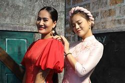 Thu Quỳnh, Bảo Thanh vui vẻ nói cười trước tin đồn 'không nhìn mặt nhau'