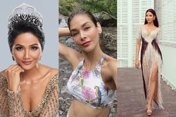 Bản tin Hoa hậu Hoàn vũ 11/9: H'Hen Niê và Hoàng Thùy 'tắt nắng' trước giai nhân 'nghiêng nước nghiêng thành'