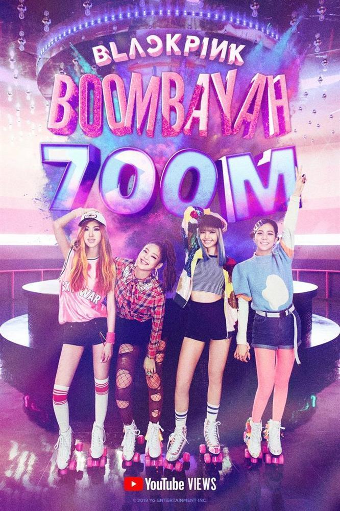 MV Boombayah chính thức cán mốc 700 triệu lượt xem giúp BlackPink trở thành nhóm nhạc KPop đầu tiên làm nên thành tích mới-2
