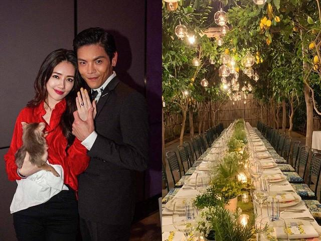 Con trai ông trùm Hướng Hoa Cường cưới mỹ nhân Đài Loan ở Italy-1