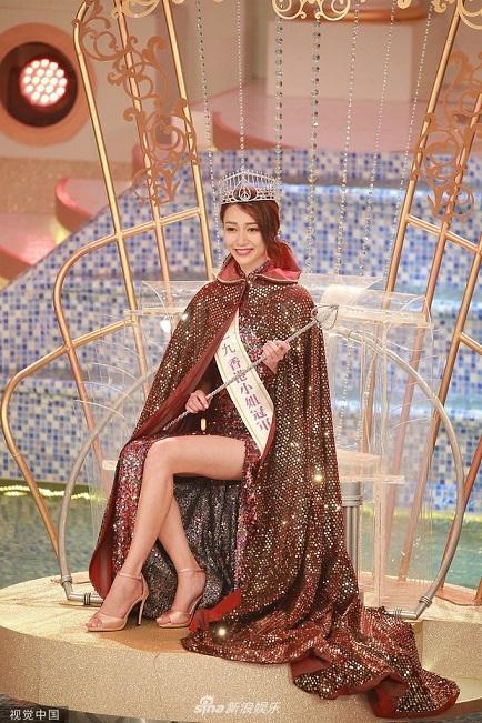 Vừa đăng quang, Tân Hoa hậu Hong Kong bị tố cặp với đàn ông có vợ-1