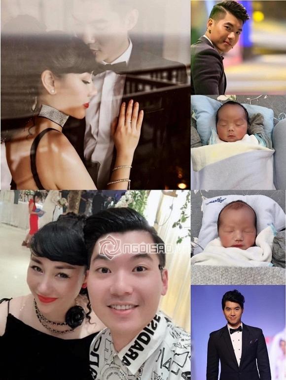 Vợ chồng Trương Nam Thành tổ chức đầy tháng cho cặp song sinh-1