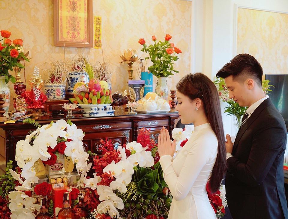 Hủy hôn con trai nghệ sĩ Hương Dung, nữ giảng viên làm lễ dạm ngõ với bạn trai hotboy-4