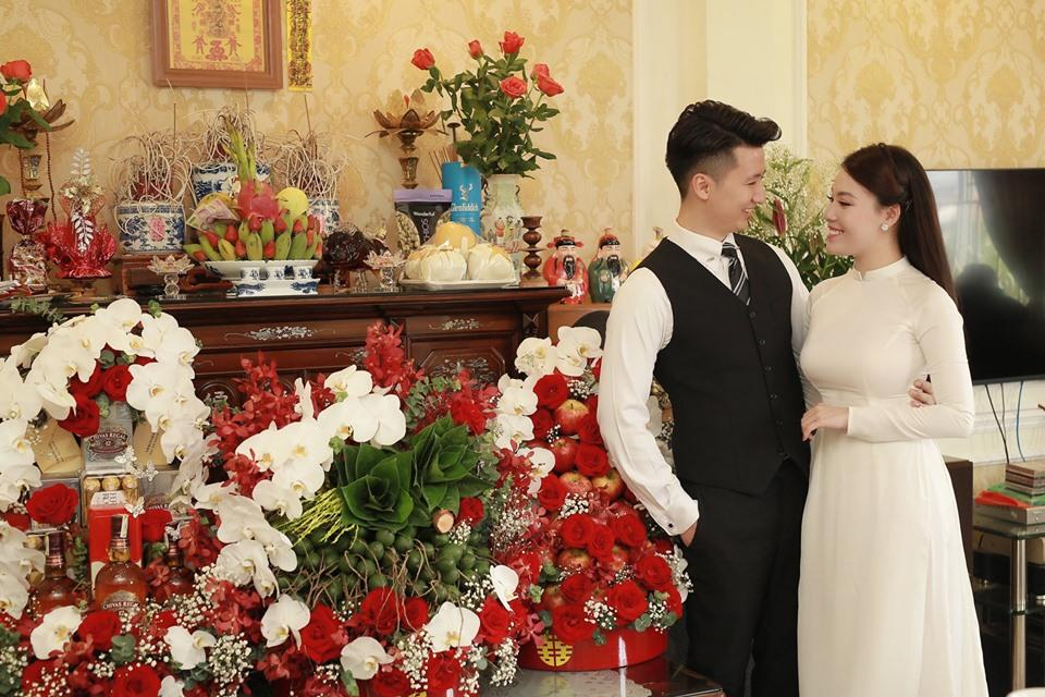 Hủy hôn con trai nghệ sĩ Hương Dung, nữ giảng viên làm lễ dạm ngõ với bạn trai hotboy-7