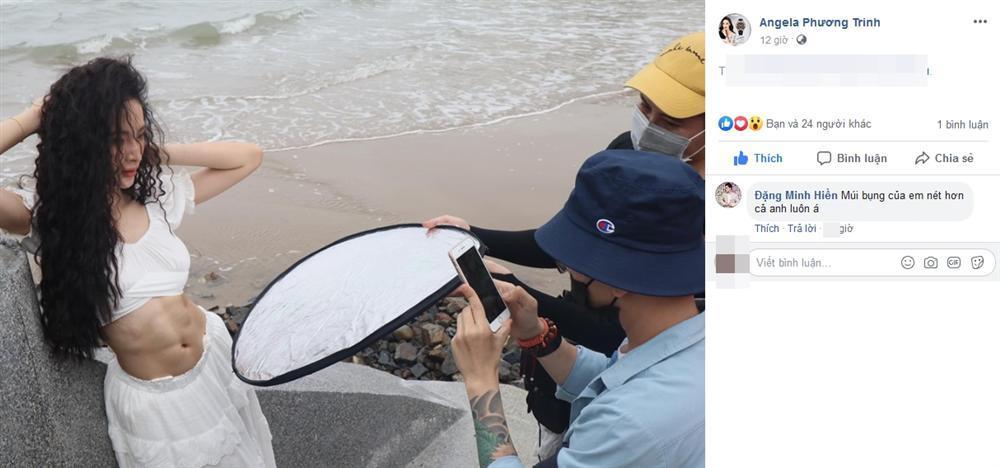 VZN News: Angela Phương Trinh khoe bụng 6 múi cuồn cuộn khiến VĐV thể hình số 1 Việt Nam trầm trồ-5