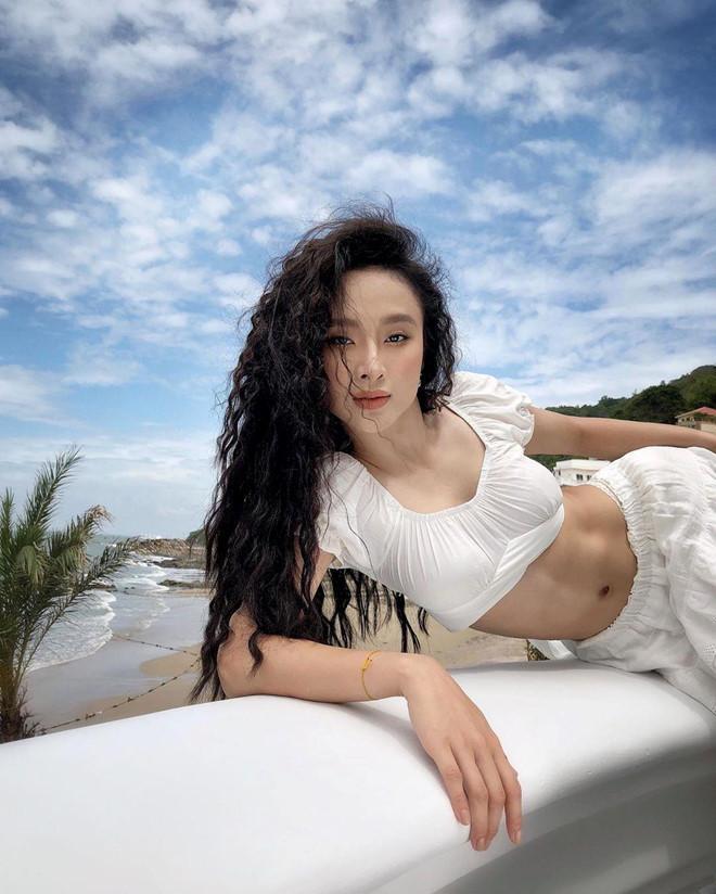 VZN News: Angela Phương Trinh khoe bụng 6 múi cuồn cuộn khiến VĐV thể hình số 1 Việt Nam trầm trồ-7