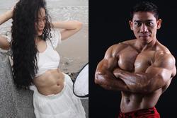 Angela Phương Trinh khoe bụng 6 múi cuồn cuộn khiến VĐV thể hình số 1 Việt Nam trầm trồ
