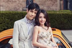 Trọn bộ ảnh cưới ngọt ngào của con trai ông trùm Hướng Hoa Cường và mỹ nhân 'Tiểu thời đại'
