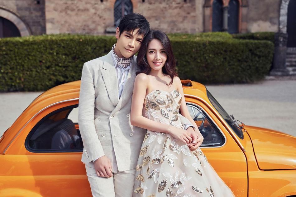 VZN News: Trọn bộ ảnh cưới ngọt ngào của con trai ông trùm Hướng Hoa Cường và mỹ nhân Tiểu thời đại-2