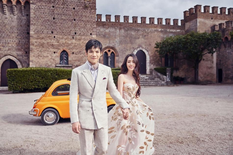 VZN News: Trọn bộ ảnh cưới ngọt ngào của con trai ông trùm Hướng Hoa Cường và mỹ nhân Tiểu thời đại-5